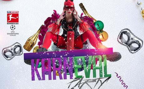 Karnevalsparty im Sauna / FKK Club Tutti Frutti Alfter/Bonn (D) in Alfter