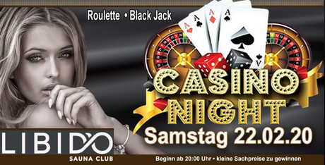 Casino Night im Sauna / FKK Club Libido Nürnberg (D) in Nürnberg