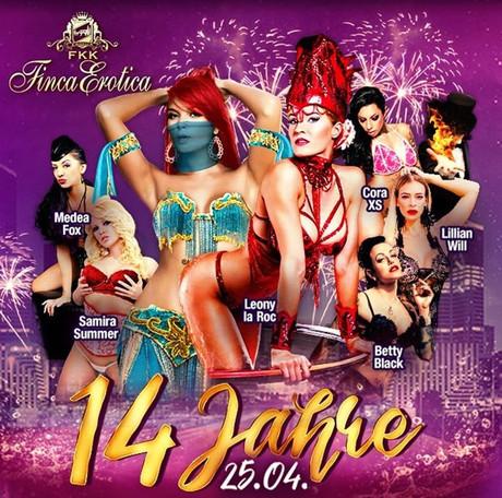 14th Birthday Party im Sauna / FKK Club FKK Finca Erotica Dierdorf (D) in Dierdorf