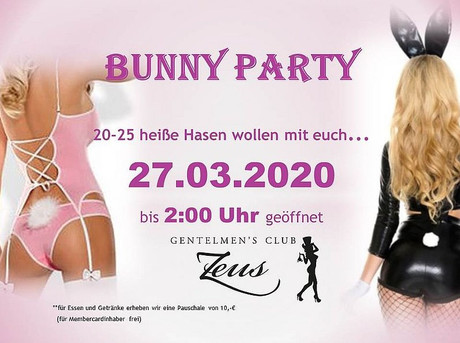 Bunny Party im Sauna / FKK Club FKK Zeus Wallenhorst/Osnabrück (D) in Wallenhorst