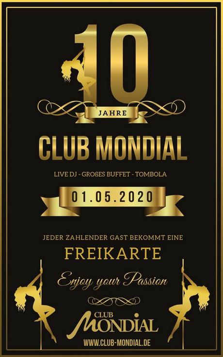 10th Birthday Party im Sauna / FKK Club Mondial Köln (D) in Köln