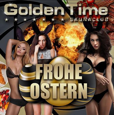 Frohe Ostern Golden Time Brüggen im Sauna / FKK Club Golden Time Brüggen (D) in Brüggen