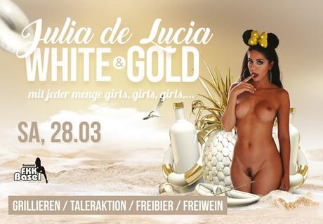 White & Gold im Sauna / FKK Club FKK Basel (CH) in Basel