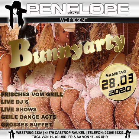 Bunny Party Penelope de Luxe im Sauna / FKK Club Penelope de Luxe Castrop-Rauxel (D) in Castrop-Rauxel