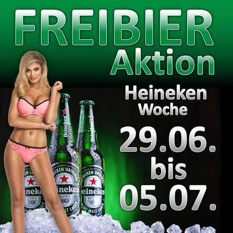 Heineken Woche im Sauna / FKK Club Olymp Oberbuchsiten (CH) in Oberbuchsiten