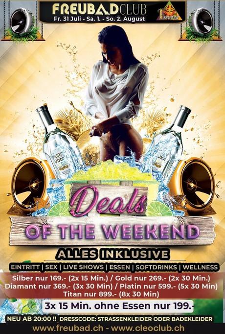 Deals of the Weekend im Sauna / FKK Club FKK Freubad Recherswil (CH) in Recherswil