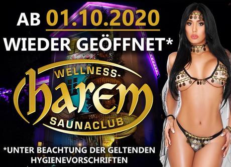 Wiedereröffnung  im Sauna / FKK Club Harem Bad Lippspringe (D) in Bad Lippspringe