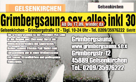 Wiedereröffnung  im Sauna / FKK Club FKK Grimbergsauna Gelsenkirchen [RTC] (D) in Gelsenkirchen