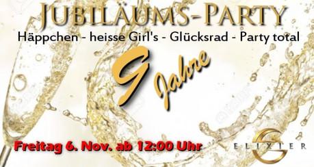 9th Birthday Party im Sauna / FKK Club Elixier Volketswil/Zürich (CH) in Volketswil