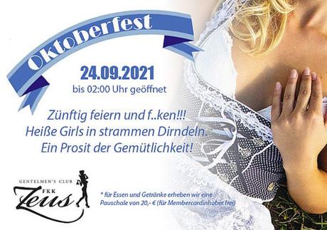 Oktoberfest FKK Zeus Wallenhorst im Sauna / FKK Club FKK Zeus Wallenhorst/Osnabrück (D) in Wallenhorst