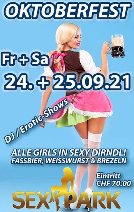 Oktoberfest Weekend im Sauna / FKK Club Sexpark Oberentfelden (CH) in Oberentfelden
