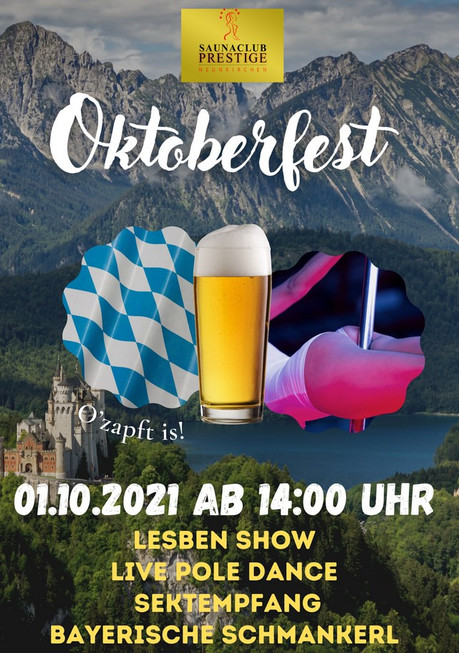 Oktoberfest FKK Prestige im Sauna / FKK Club FKK Prestige Neunkirchen (D) in Neunkirchen