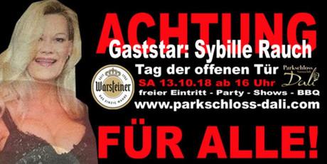 Tag der offenen Tür im Sauna / FKK Club Parkschloss Dali Marsberg (D) in Marsberg