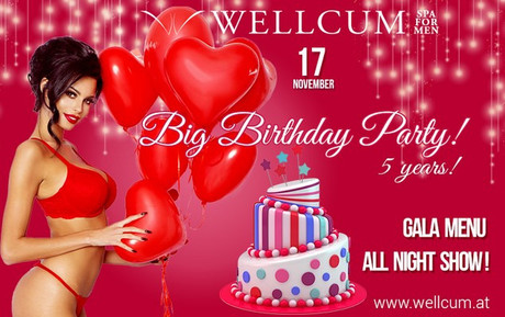 Big Birthday Party im Sauna / FKK Club Wellcum Hohenthurn/Villach (A) in Hohenthurn