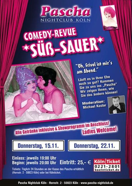 Süß-Sauer im Sauna / FKK Club Pascha Nightclub Köln (D) in Köln