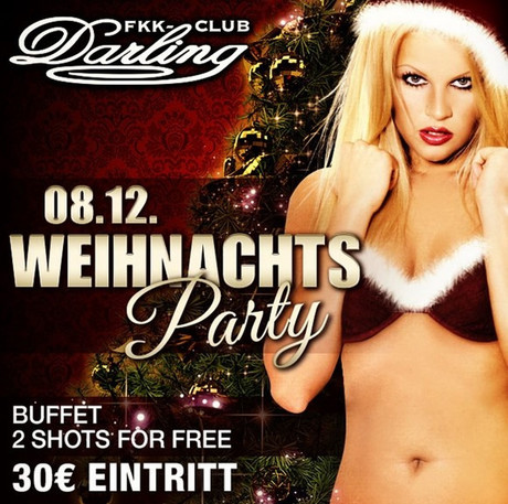 Xmas Party FKK Darling im Sauna / FKK Club FKK Darling Nidderau/Frankfurt (D) in Nidderau