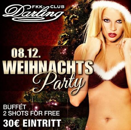 Xmas Party FKK Darling im Sauna / FKK Club FKK Darling Nidderau/Frankfurt (D) in Nidderau