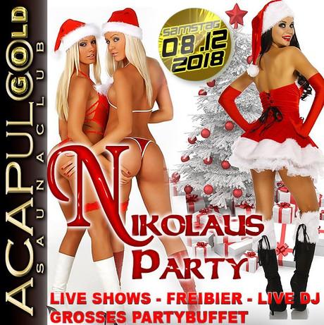 Nikolaus Party im Sauna / FKK Club Acapulco Gold Ratingen/Düsseldorf (D) in Ratingen (D)