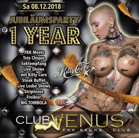 1st Birthday Party im Sauna / FKK Club FKK Venus Hamminkeln (D) in Hamminkeln