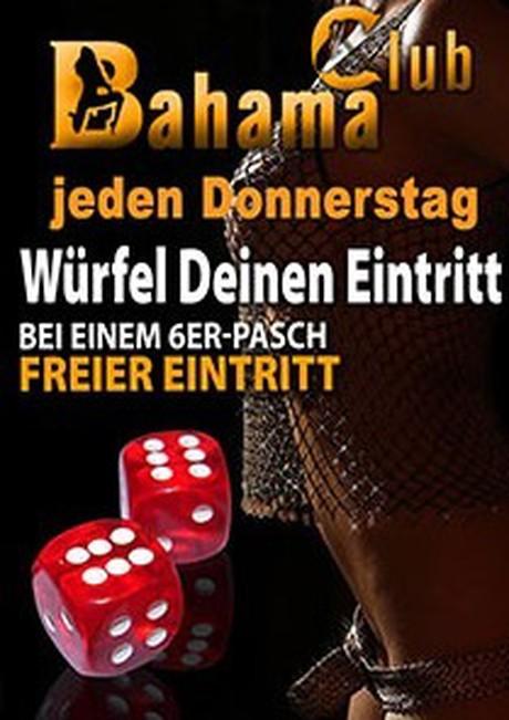 Double 6 im Sauna / FKK Club Bahama Maintal/Frankfurt (D) in Maintal-Dörnigheim