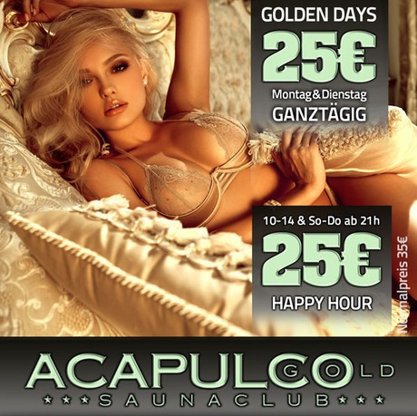 Discount Day im Sauna / FKK Club Acapulco Gold Ratingen/Düsseldorf (D) in Ratingen (D)