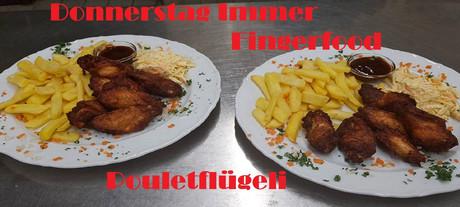 Fingerfood im Sauna / FKK Club FKK Plan B Windisch/Brugg (CH) in Windisch AG