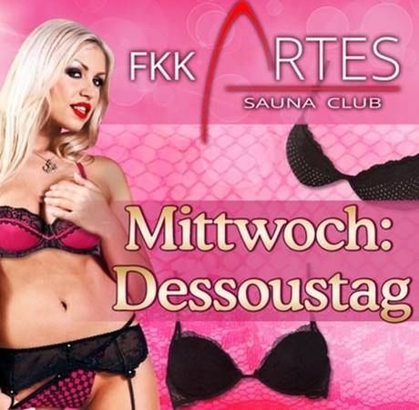 Dessous/Lingerie Day im Sauna / FKK Club FKK Artes Bayreuth (D) in Bayreuth