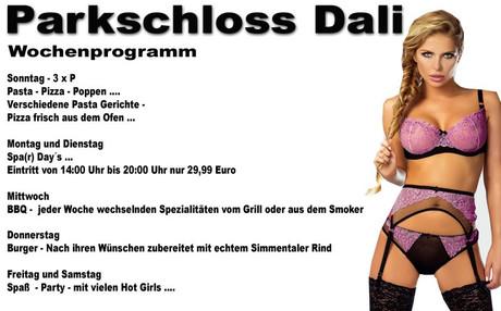 3xP im Sauna / FKK Club Parkschloss Dali Marsberg (D) in Marsberg