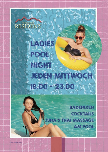 Ladies Pool Night im Sauna / FKK Club Parksauna Residenz Lohmar/Köln (D) in Lohmar-Durbusch