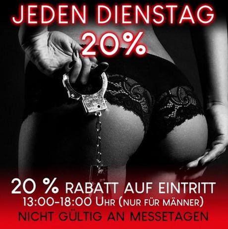 Discount Day im Sauna / FKK Club FKK Atlantis München (D) in München