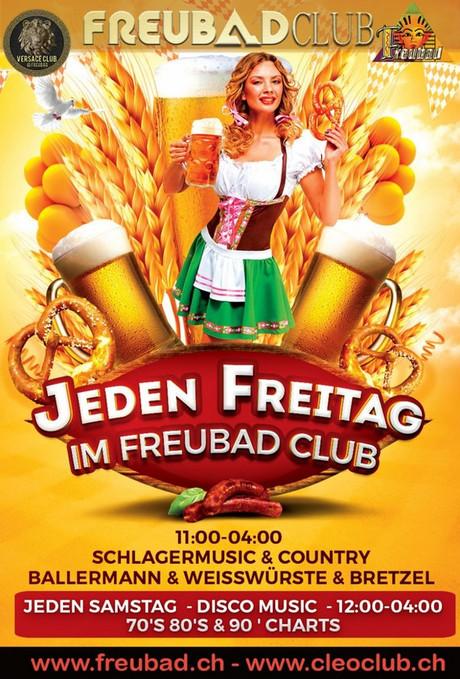 Schlagermusik & Country im Sauna / FKK Club FKK Freubad Recherswil (CH) in Recherswil