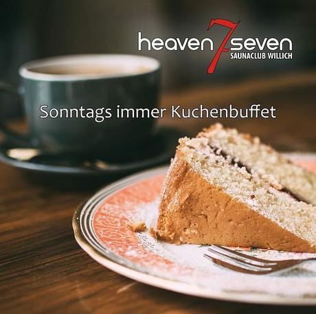 Cake Buffet im Sauna / FKK Club Heaven Seven Willich (D) in Willich