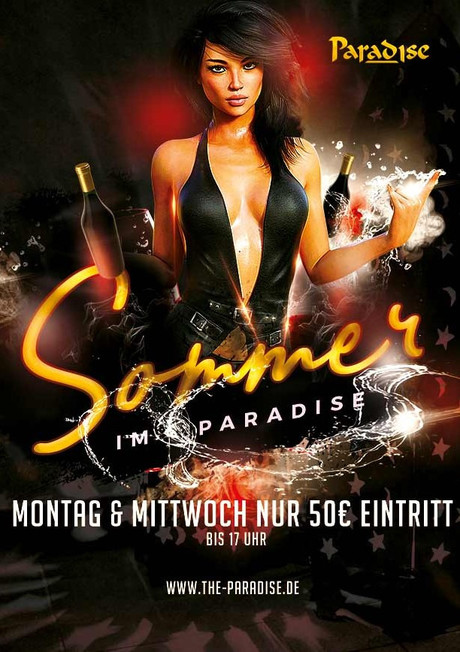 Summer in Paradise im Sauna / FKK Club The Paradise Stuttgart Leinfelden-Echterdingen (D) in Leinfelden-Echterdingen