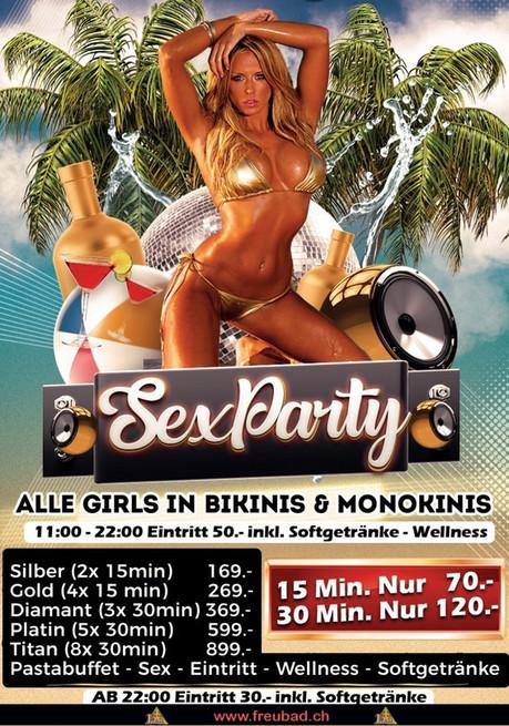 Bikini/Monokini Day im Sauna / FKK Club FKK Freubad Recherswil (CH) in Recherswil