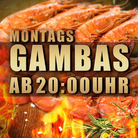 Gambas Special im Sauna / FKK Club Golden Time Brüggen (D) in Brüggen