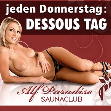 Lingerie/Dessous Day im Sauna / FKK Club Alf Paradise Alfhausen (D) in Alfhausen
