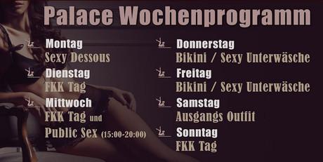Bikini/Dessous/Lingerie Day im Sauna / FKK Club FKK Palace Root/Luzern (CH) in Root