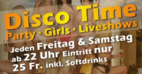Disco Time im Sauna / FKK Club FKK History Liestal/Basel (CH) in Liestal