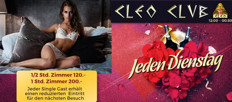 Discount Ticket im Sauna / FKK Club Cleoclub Bargen/Biel (CH) in Bargen