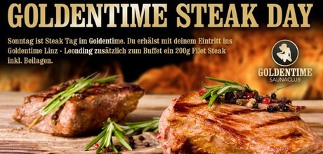 Steak-Day im Sauna / FKK Club FKK Goldentime Leonding/Linz (A) in Leonding