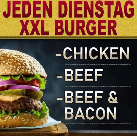 XXL-Burger im Sauna / FKK Club Cleoclub Bargen/Biel (CH) in Bargen