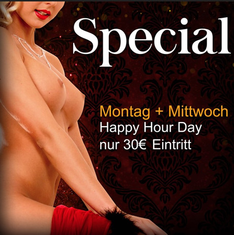 Happy-Hour-Day im Sauna / FKK Club Bahama Maintal/Frankfurt (D) in Maintal-Dörnigheim