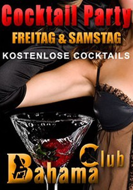 Cocktail Day im Sauna / FKK Club Bahama Maintal/Frankfurt (D) in Maintal-Dörnigheim
