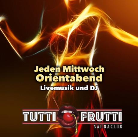 Oriental Night im Sauna / FKK Club Tutti Frutti Alfter/Bonn (D) in Alfter