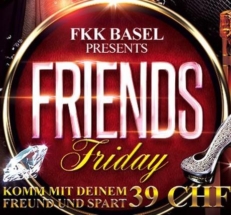 Friends Friday im Sauna / FKK Club FKK Basel (CH) in Basel