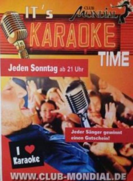 Karaoke im Sauna / FKK Club Mondial Köln (D) in Köln