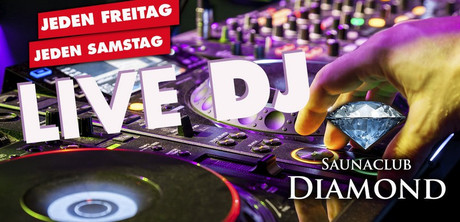 Live-DJ & BBQ Hamburger im Sauna / FKK Club Diamond Moers (D) in Moers