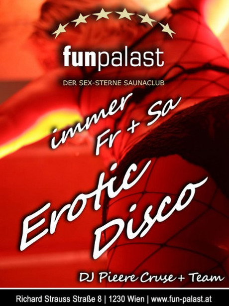 Erotic Disco im Sauna / FKK Club Fun Palast Wien (A) in Wien
