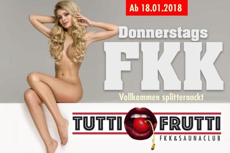 FKK Day im Sauna / FKK Club Tutti Frutti Alfter/Bonn (D) in Alfter