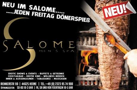 Döner-Kebab-Tag im Sauna / FKK Club Salome Herne (D) in Herne